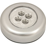 4 LED Round Push-on Light by Mercury, Part Number 410.324UK