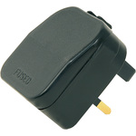 European Converter Plug- Black by Mercury, Part Number 429.822UK