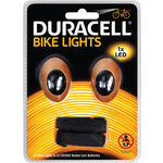 Duracell Front & Rear LED Bike Light Set by Duracell, Part Number 460.123UK