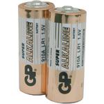 Alkaline batteries, N, 1.5V, packed 2 /Blister by GP Battery, Part Number 656.024UK