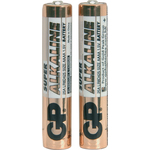 Alkaline Battery, AAAA x 2, 1.5V by GP Battery, Part Number 656.603UK