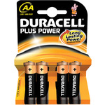 AA Duracell Plus power - 4 Pack by Duracell, Part Number 656.955UK
