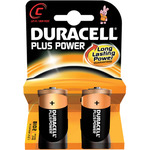 C Duracell Plus power 2 Pack by Duracell, Part Number 656.957UK