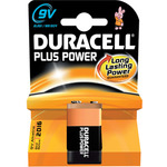 9V PP3 Duracell Plus power Single Pack by Duracell, Part Number 656.959UK