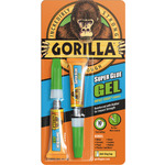 Gorilla Super Glue Gel 2x3g by gorilla, Part Number 701.267UK