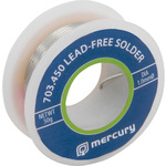 Lead free solder, 1mm, 50g by Mercury, Part Number 703.450UK