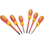 Isolated VDE 6pcs Screwdriver Set by Mercury, Part Number 710.220UK