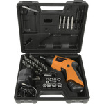 3.6V Cordless Screwdriver Set 46pcs by Mercury, Part Number 710.225UK