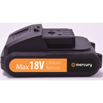 18V Lithium Ion Battery by Mercury, Part Number 710.281UK