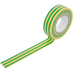 PVC20EA Electrical insulation tape, 20m, green/yellow by ultratape, Part Number 710.309UK