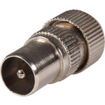BA13 Nickel plated precision coaxial plug - bulk by avlink, Part Number 765.539UK