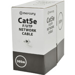 Cat5e F/UTP Network Cable 305m Grey by Mercury, Part Number 808.003UK