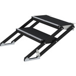 2 Step Adjustable Stairs 40 - 60cm by Citronic, Part Number 853.925UK