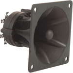 Piezo horn tweeter, 85 x 85 x 70mm by QTX, Part Number 902.475UK
