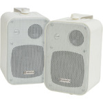 100v Line speakers 30W White - Pair by Adastra, Part Number 952.888UK