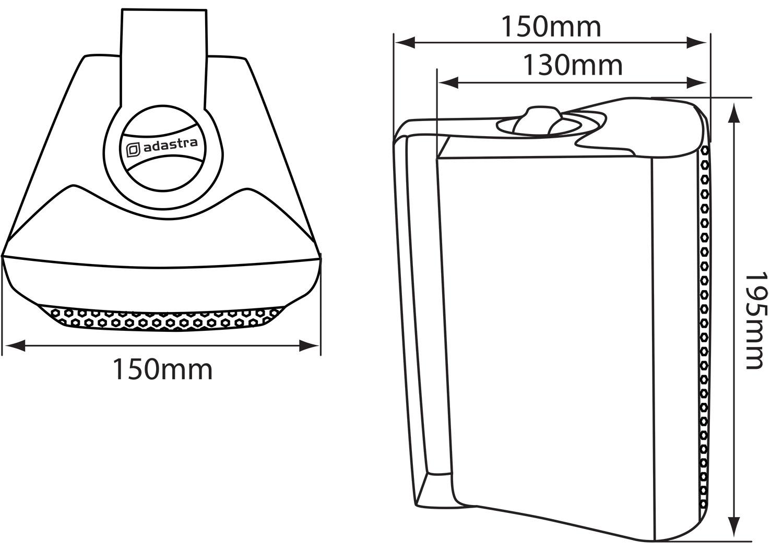 4-034-2-Wege-Kompakt-Stereo-HiFi-Lautsprecher-70W-Paar-Home-Mini-Wandhalterung-ABS Indexbild 11