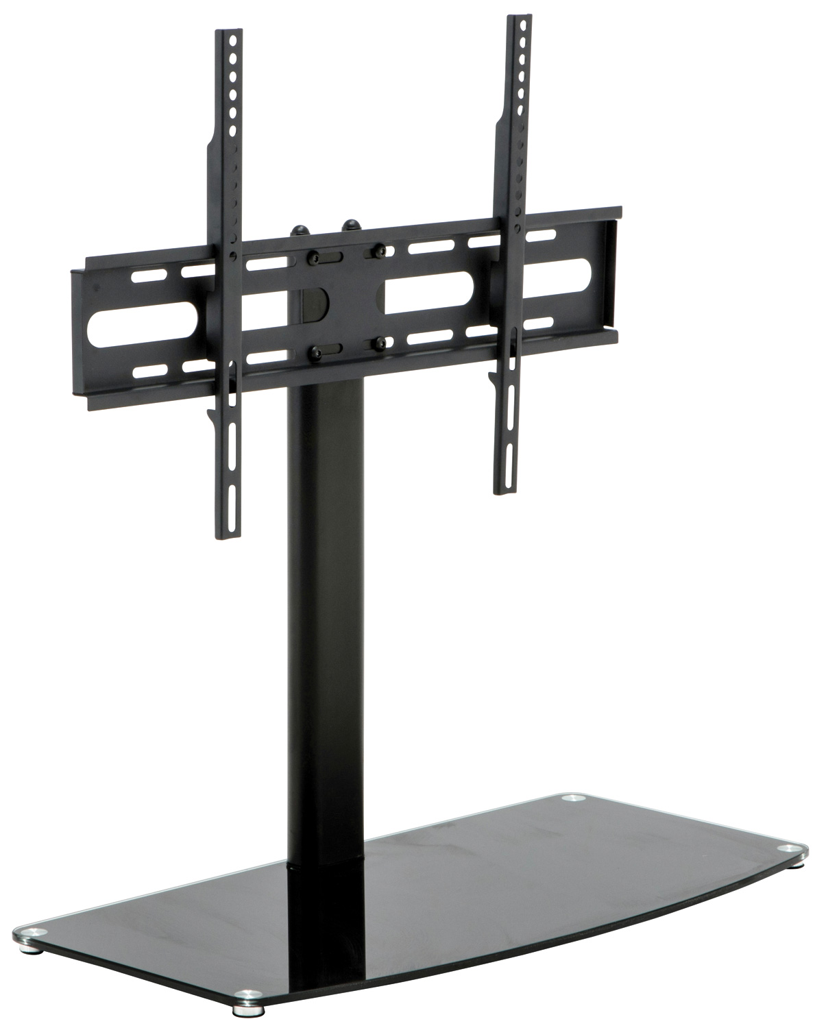 load weight shelf to new pedestal tv universal max stand vesa base ebay bracket avlink size glass screen itm dimensions x