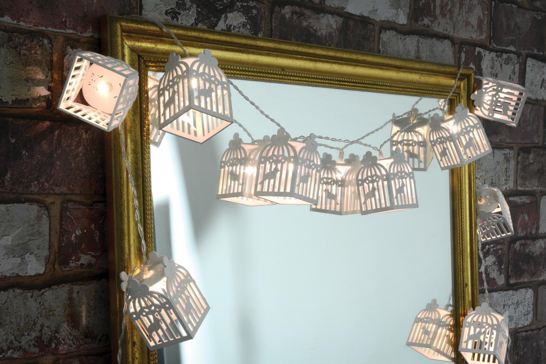 Lyyt led in legno bird house deco luce nuovo illuminazione da