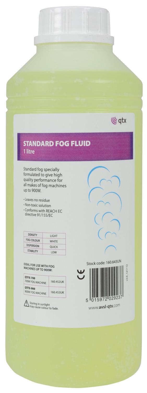 1 litre bottle fog fluid