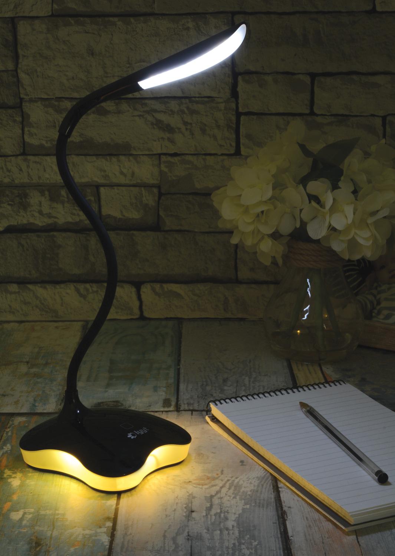 Dimmable-Touch-Sensor-USB-LED-Desk-Table-Night-Bedside-Reading-Lamp-Light thumbnail 7
